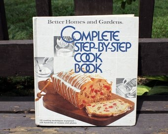 Vintage Cookbook, Better Homes and Gardens, Complete Step-By-Step Cook Book, Recipe