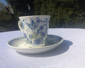 Cup and Saucer - Woman, Norway, Lotte by Figgjo