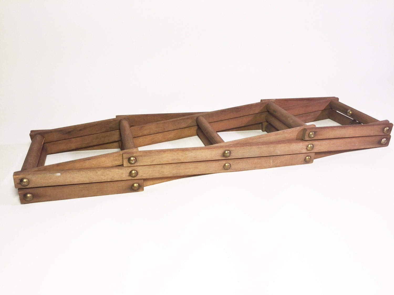 Vintage Wooden Wine Rack
