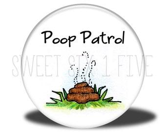 Poop Patrol - Chore Magnet