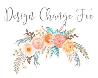 Design Change Fee