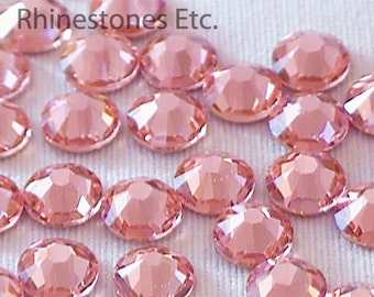 Rose Peach 20ss Swarovski Elements Rhinestone  2058 Flatback 36 pieces