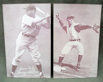 1950's Baseball Cards, Ed Stanky Baseball Card, Tommy Holmes Baseball Card,