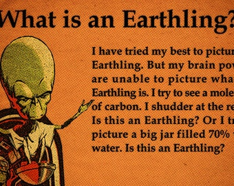 What is an Earthling?