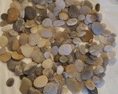 By the Dozen Beach Rocks, Hand  Collected From Topsail Island, NC for Decorating, Crafting and More