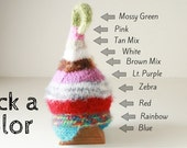 Baby elf costume photo prop pixie hat in size newborn to adult sizes