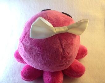 Pink Octopus plushie