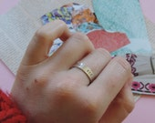 To The Sea || sterling silver ring