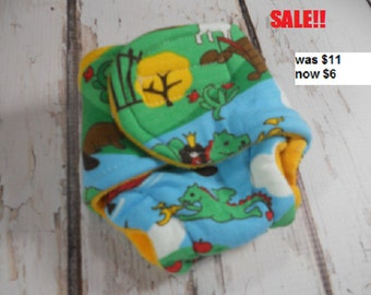 DISCONTINUED SALE Baby Doll Cloth Diapers,  doll cloth diaper, doll diaper, pretend play, Velcro  gift, toys, christmas gift, toddler toy