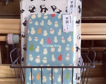 Washi Paper style envelopes. Spring Summer 2016 new design by Japanese designer. Stationary bags for craft.