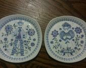 Turi design Lotte made in norway plates set of 6
