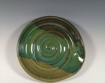 Spoon Rest - Ocean Greens - Kitchen- ceramics - pottery - stoneware- ceramics - pottery - stoneware