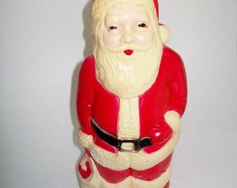 Vintage Santa Blow Mold Union Products