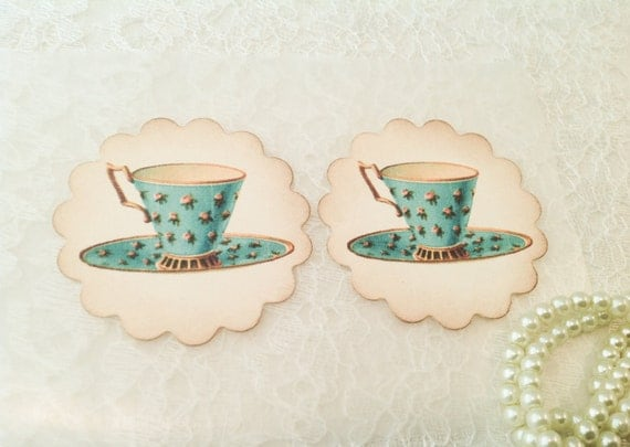 Tea party favors and stickers victorian gifts and favors for Victorian tea party favors