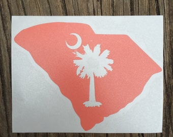 South Carolina Palmetto Decal [Solid Color]