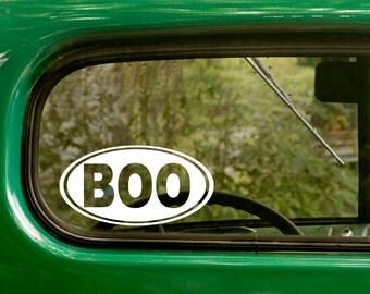 Oval Boo Decal, Boo Sticker, Boone North Carolina Decal, Car Decal, Laptop Sticker, Oval Sticker, Bumper, Vinyl Decal, Car Sticker