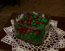 Patron bottle candy dish