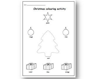 primary resources christmas coloring pages - photo#11