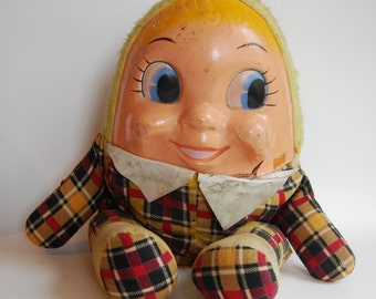 Vintage Humpty Dumpty Plush