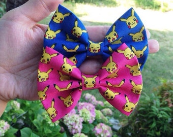 SALE Kawaii Pikachu Hair Bow