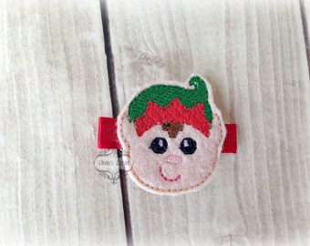 Elf hair clip Christmas Elf Hair Clippie Pick one or two. Pick Left side or Right.