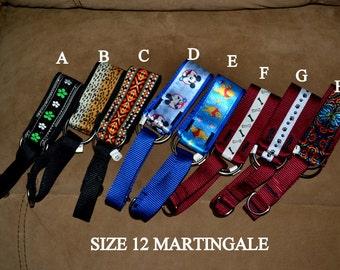 Martingale Collar Size 12