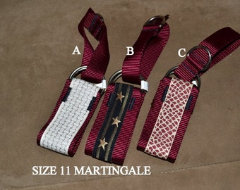 Size 11 Martingale collar