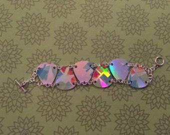 Halographic Geometric Bracelet