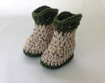 Baby Fishing Boots - Infant Fisherman Boots - Baby Shower Gift - Gender Reveal - Announcement