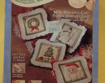 Handcast Christmas Gift Tag Kit