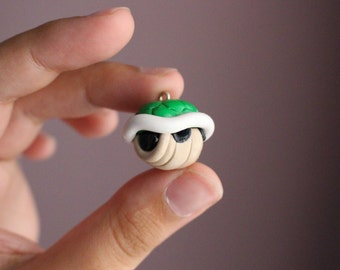 Nintendo Super Mario Green Shell necklace