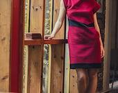 On sale -30% V dress in wool
