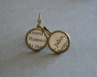 Romeo and Juliet Leverback Earrings