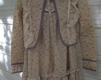 Gunne Sax Jacket and Matching Skirt  Size 9