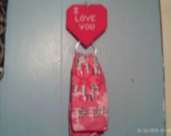 HEART TOWEL HOLDER