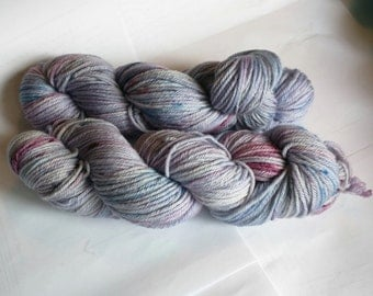 Lavender Me Alone on Worsted SW Merino