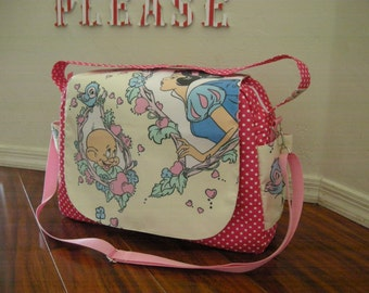 Disney Snow White  Diaper bag / shoulder and messenger bag