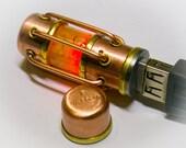 Flash drive 32 GB USB 3.0 steampunk glow in dark
