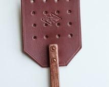 Fly Swatter Leather Flyswatter Amish Flyswatter Handmade Flyswatter Housewarming Gift Household Item Home Accessory Home Appliances