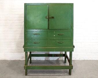 Antique Machinists Cabinet, circa 1920