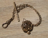 Gold watch Fob with Chain - Antique Victorian