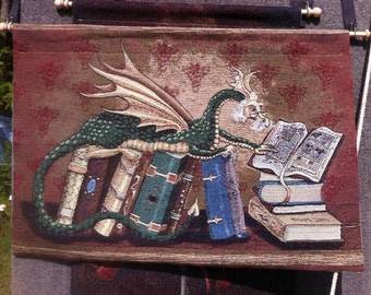 The Librarian. A wise dragon