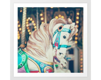 Carousel, carousel horse, nursery wall art, nursery decor, nursery prints, boy nursery decor boy nursery wall art boy, carnival photography