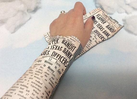 1920 flapper news bracelet news wrist cuff lace victorian for Lace glove tattoo