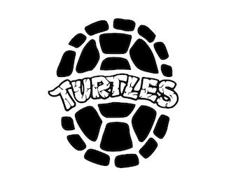 Teenage Mutant Ninja Turtles SVG for Cricut and Silhouette cutting machines