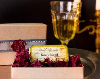 Honey Mead Natural Lip Balm - Honey Lip Balm - Beeswax Lip Balm - Medieval Lip Balm