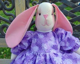 Sheila the Stuffed Bunny Rabbit Doll