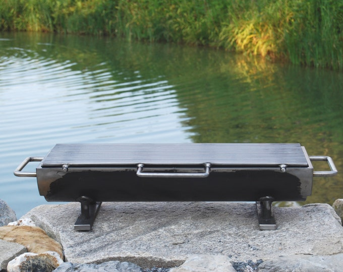 "The 824 ""Hibachinator"" Hibachi Grill w/ carbon steel Top"