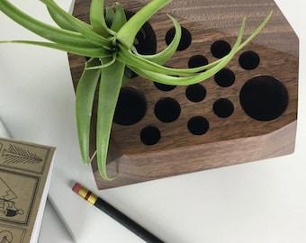 Modern Geometric Desk Organizer