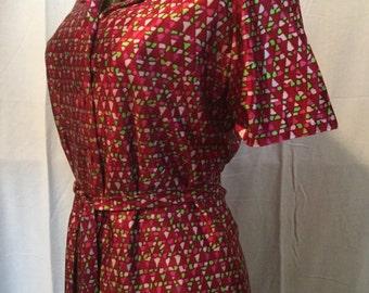 Vintage 1970's short dress, size small